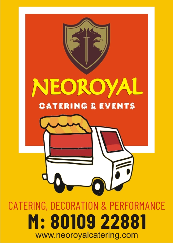 CATERING/DECORATION/DISTRIBUTION CHAAT/PIZZA/COFFEE STALLS